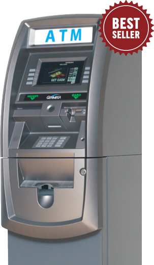Carolina ATM - ATM Services & Solutions | Genmega G2500 Series ATM Machine 2