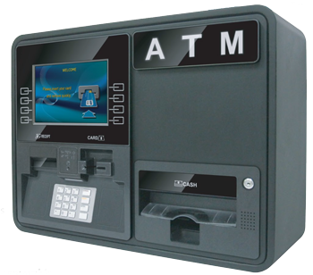 Carolina ATM - ATM Services & Solutions | Genmega Onyx W Series ATM Machine